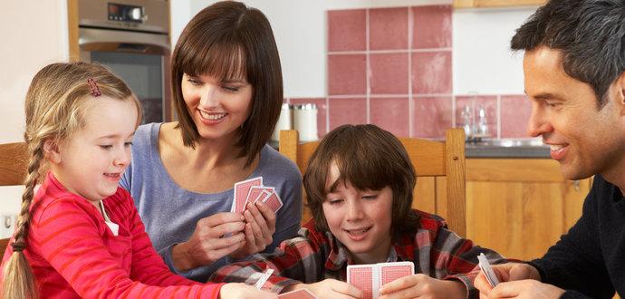 Rodina hraje žolíka podľa pravidiel
