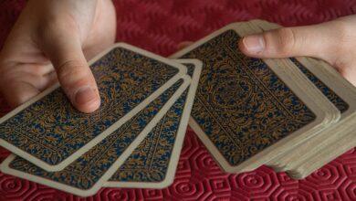 Vole padni ospalec karty rozdávanie