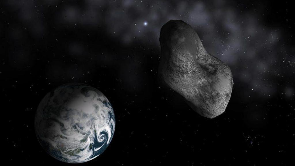 Asteroid 2002 MN