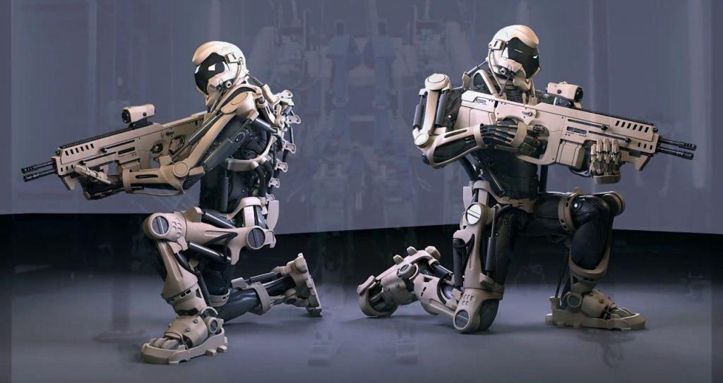 Army AI robots