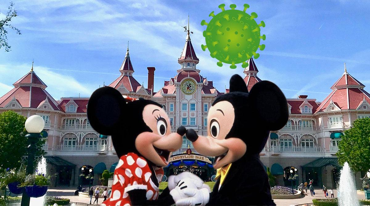 Disneyland Paris - koronavírus