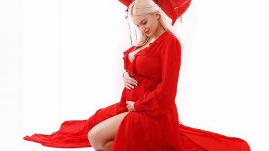 Eva Zelnikova tehotná
