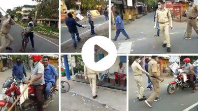 Karanténa v Indii a kruté tresty miestnej polície