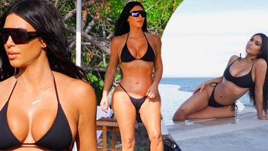Photo of Kim Kardashian ukázala svoje krivky v sexi bikinách
