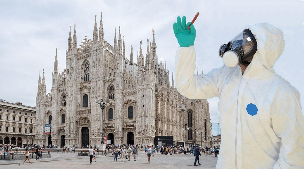 Milano koronavírus