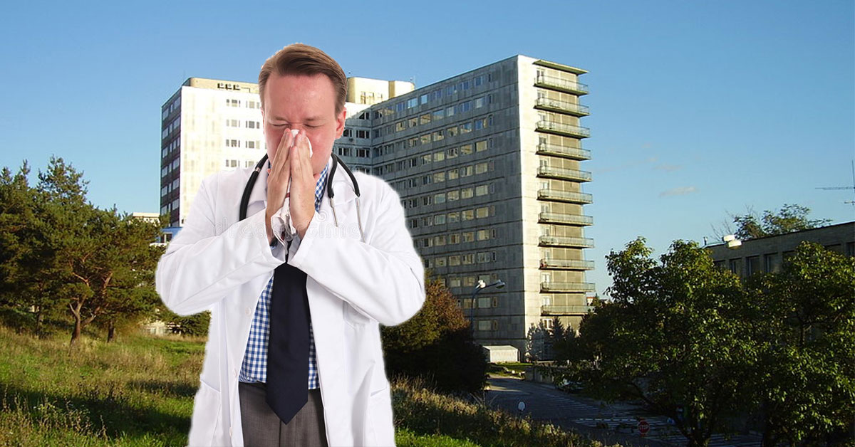 Nakazený lekár v nemocnici na Kramároch