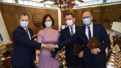 Podpis novej koaličnej zmluvy