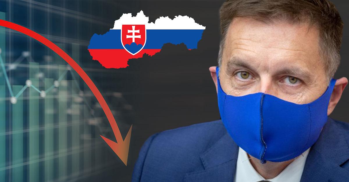 Slovensko smeruje do recesie