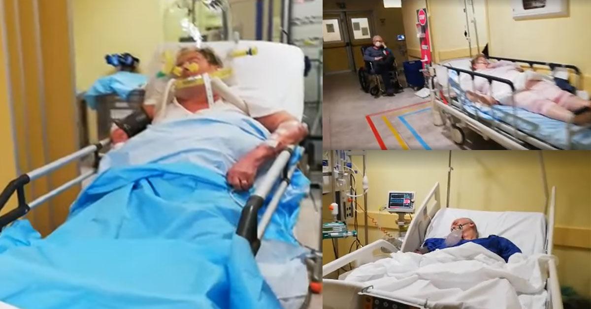 Video z talianskej nemocnice
