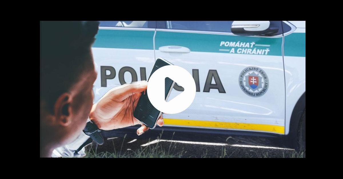 Telefonát na políciu
