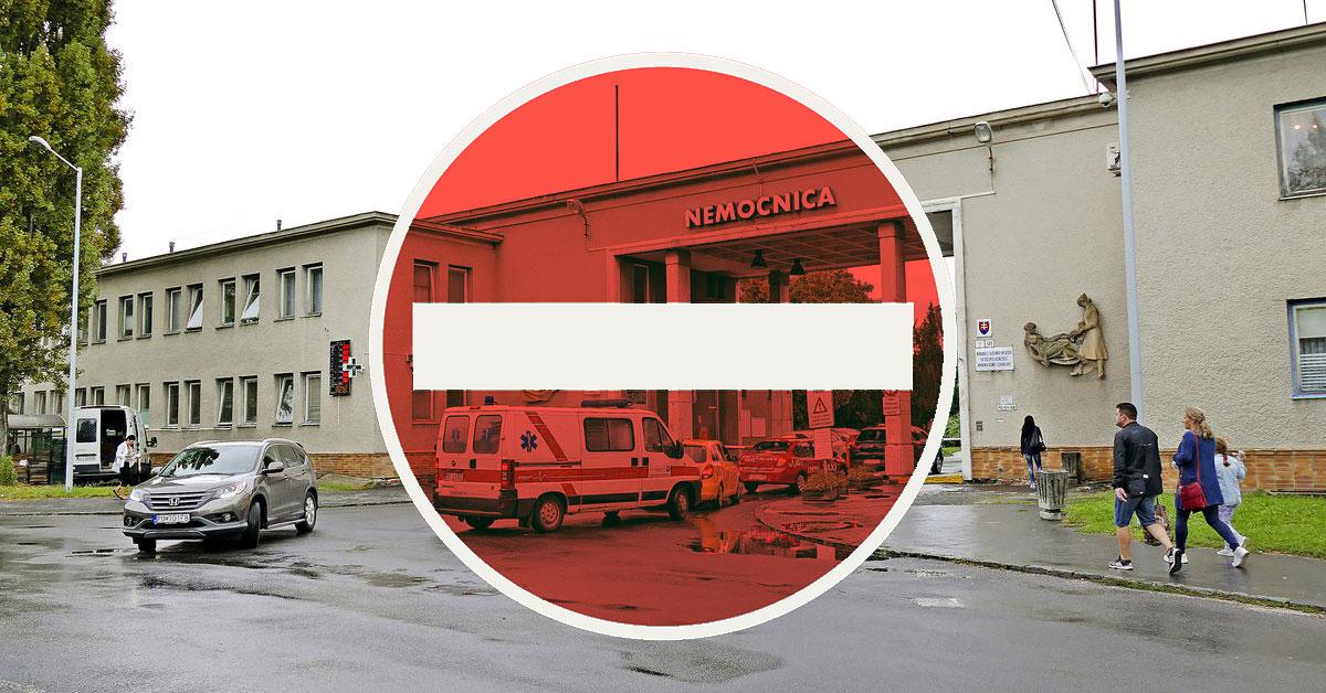Uzavretá nemocnica v Bojniciach