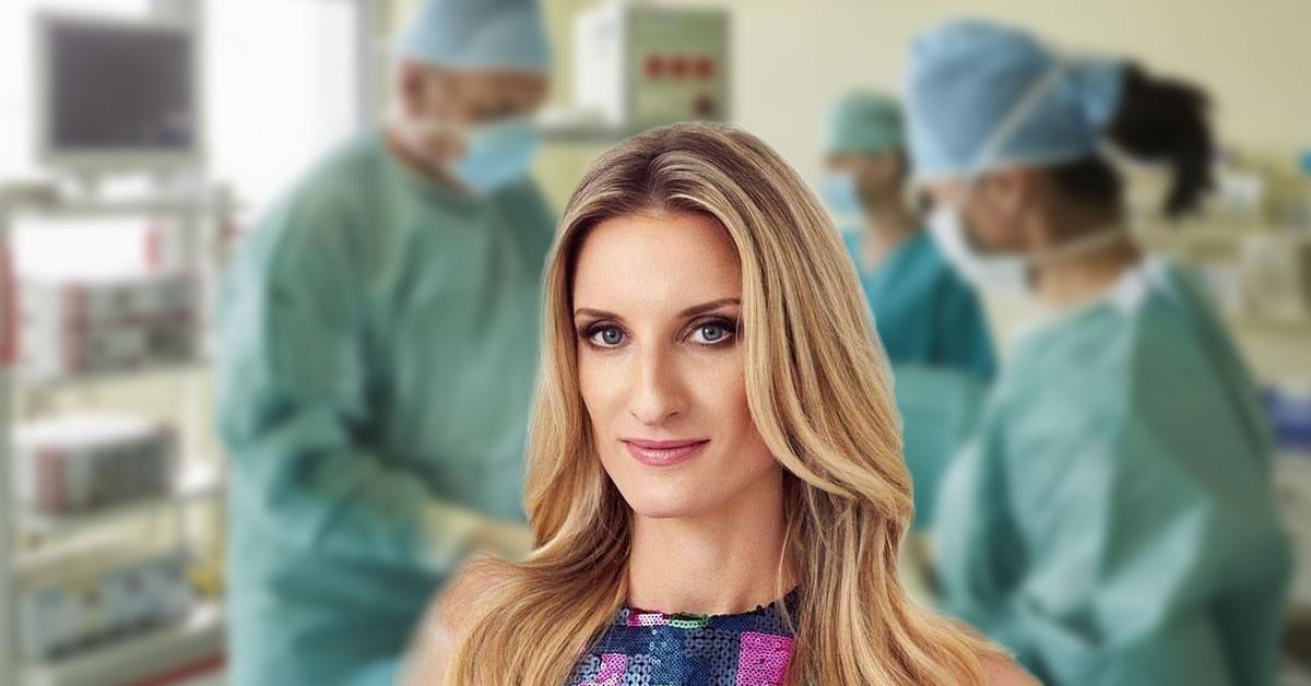 Adela Vinczeová na operácii