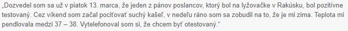 Citát - Matúš Štofko z Giraltoviec (okres Svidník)
