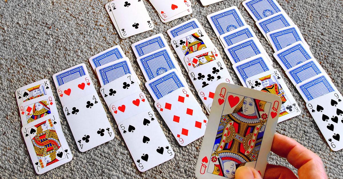 Kartová hra Solitaire