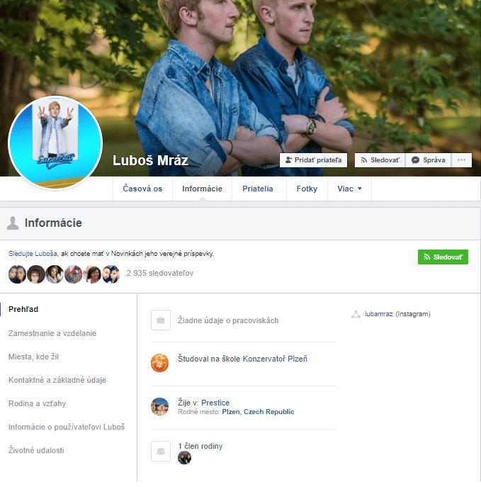 Luboš Mráz - Facebook