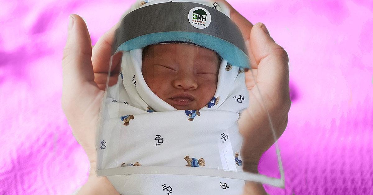 Novorodenci a rúška