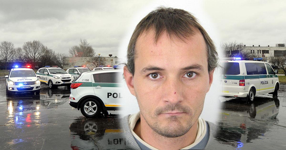 Polícia pátra po Pavlovi