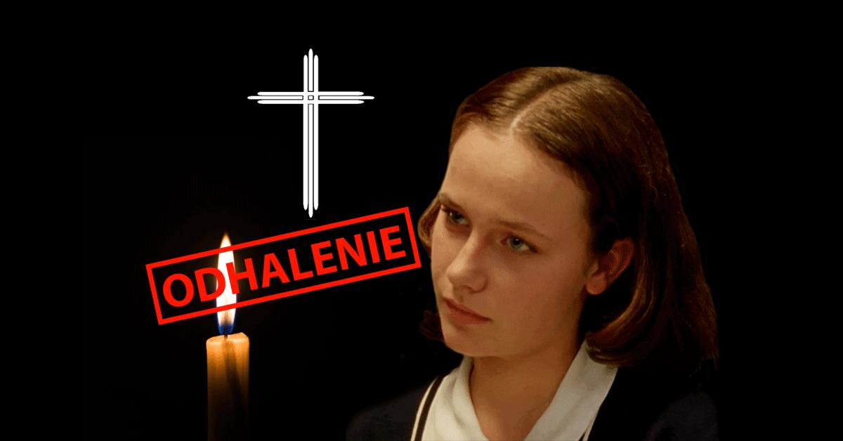 Samovražda Dagmar Teichmannová - Odhalenie