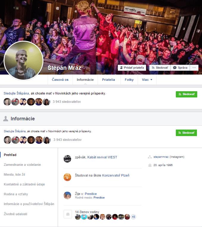 Štěpán Mráz - Facebook