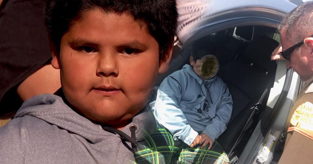 5-ročný chlapec šoféroval auto