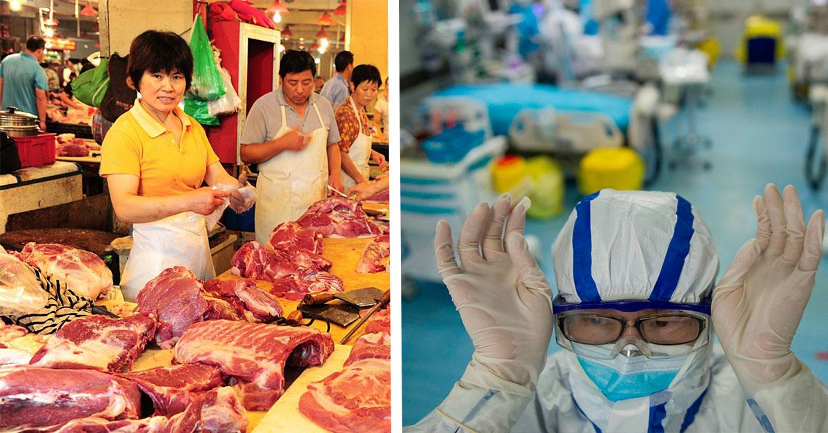 Trhy v Číne ako zdroj nákazy?