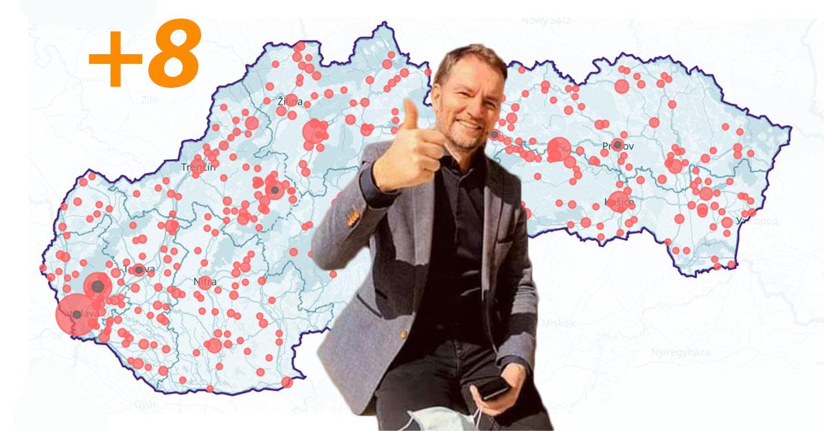 Potešený premiér Igor Matovič