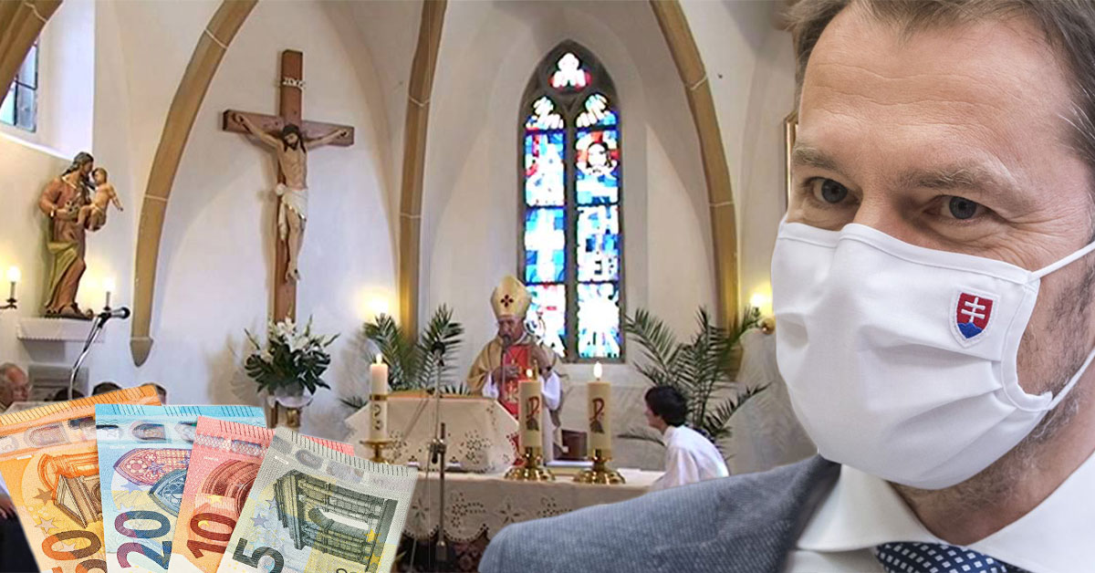Vláda podporí cirkev