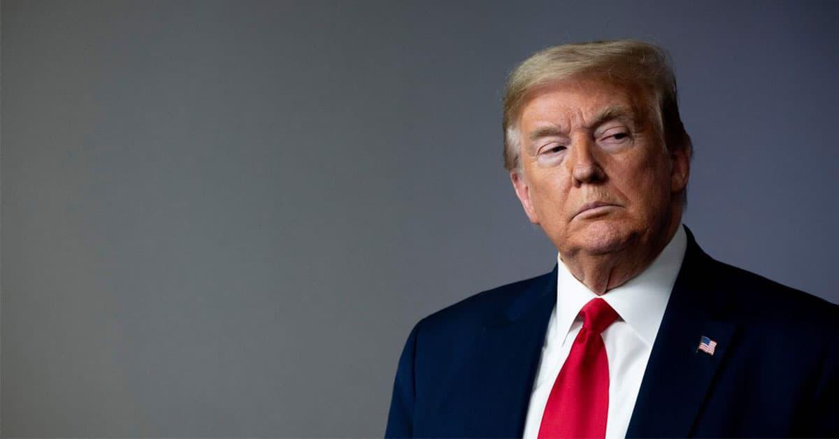 Donald Trump predstiera