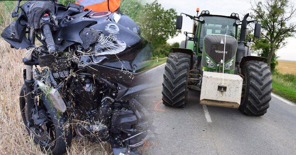 nehoda na motorke