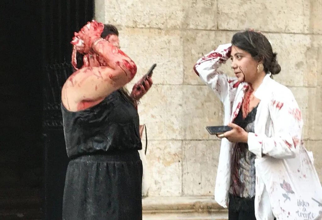 Ženy zranené pri explózi v bejrútskom prístave, Profimedia.cz