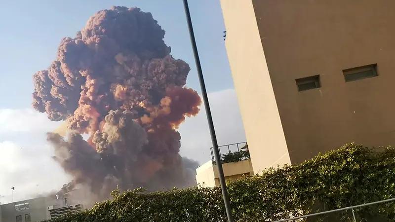 Výbuch v Bejrúte, Foto: Novinky.cz
