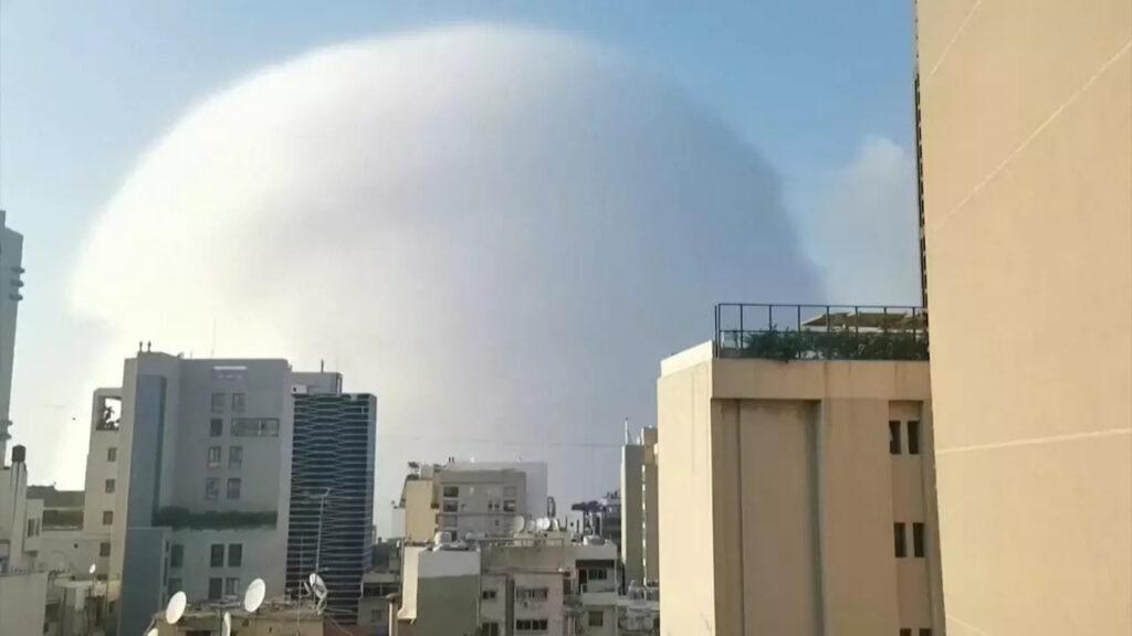 Gigantická explózia v Bejrúte Foto: Reuters