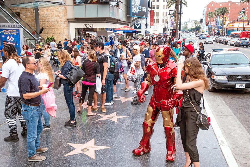 Hollywoodsky chodník, Zdroj: iStock