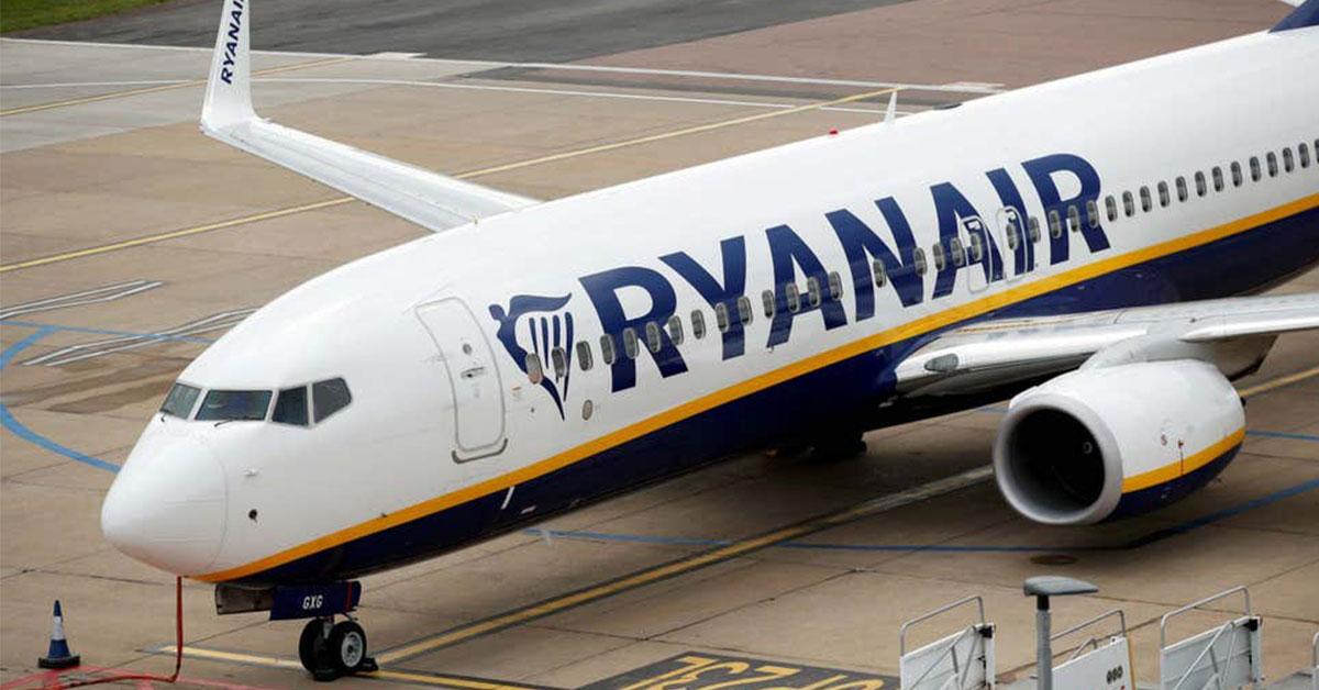 Let Ryanairu, Zdroj: Reuters