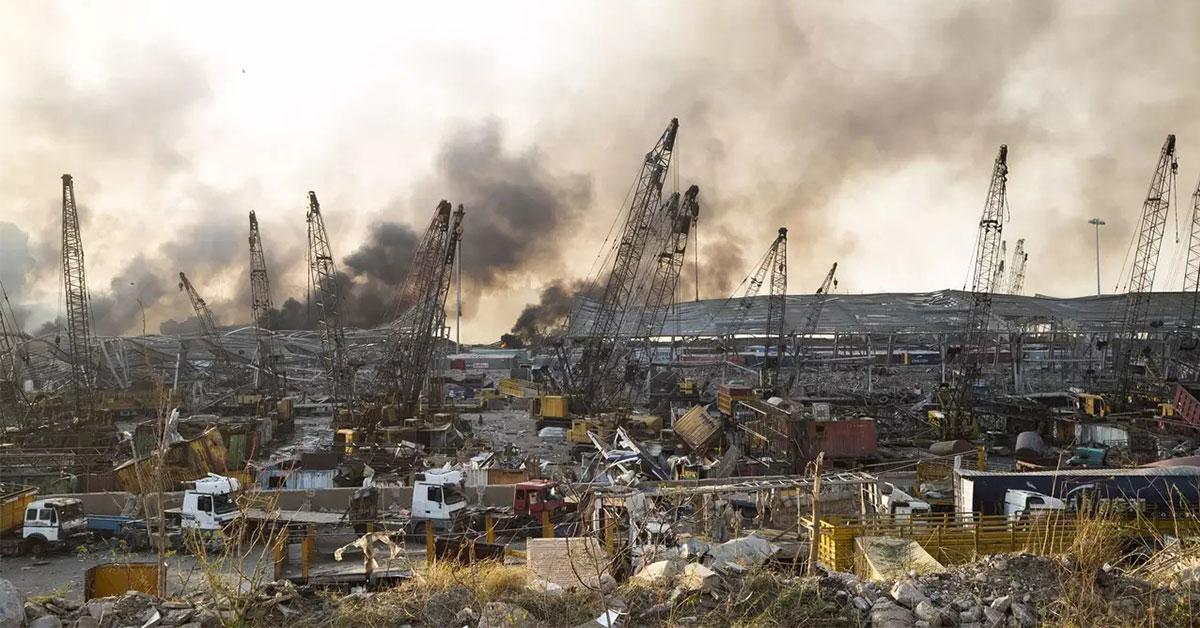 Neuveriteľné nešťastie v Bejrúte