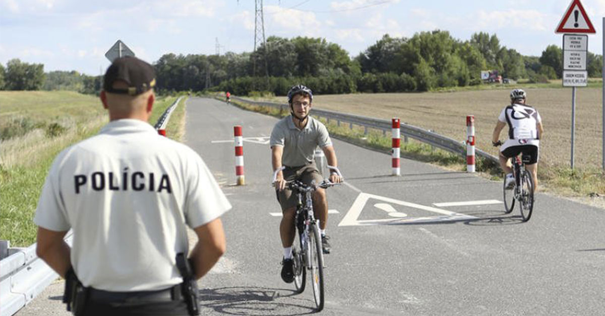 Pokuty pre cyklistov