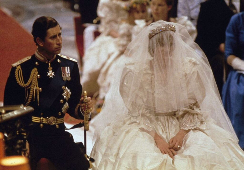 Princezná Diana a Princ Charles, Zdroj: TASR