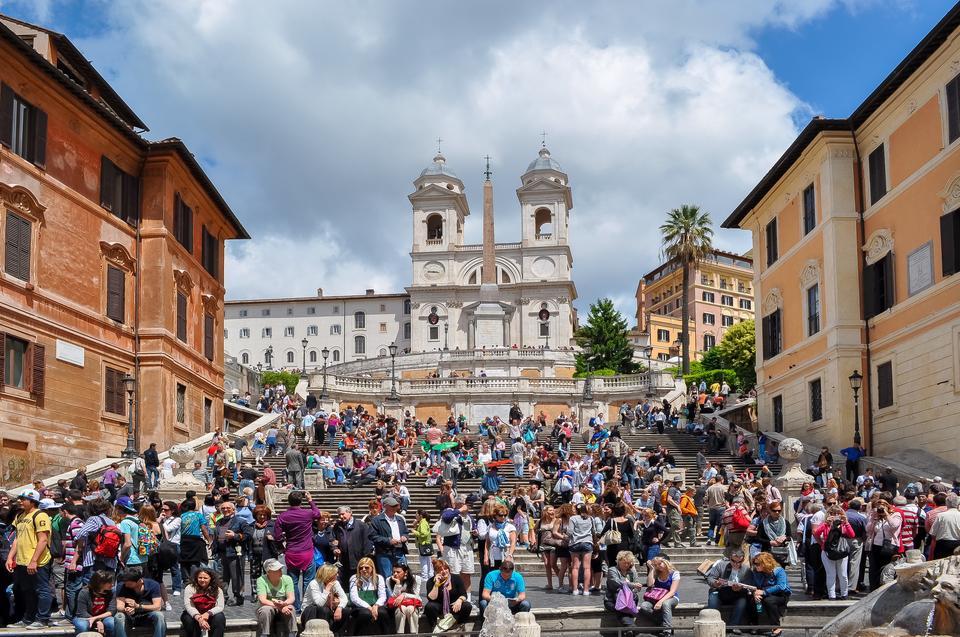 Španielske schody v Ríme, Zdroj: iStock