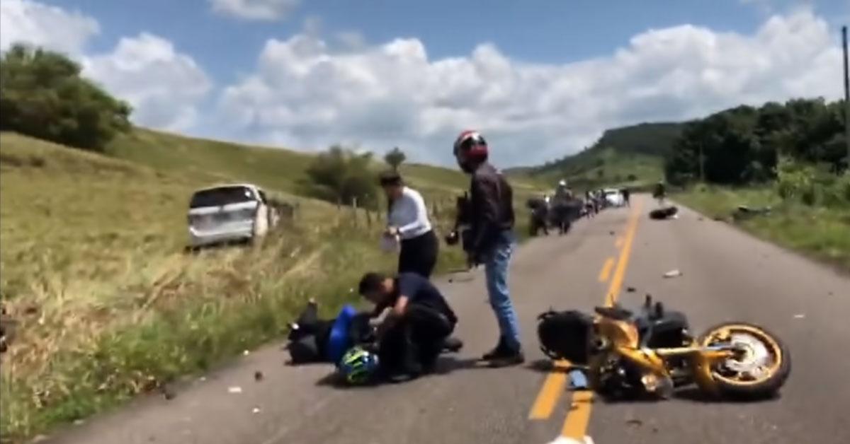 Tragická nehoda motorkárov