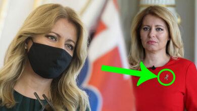 Photo of Prezidentka Čaputová nosí zvláštny symbol – Všimli ste si ho?