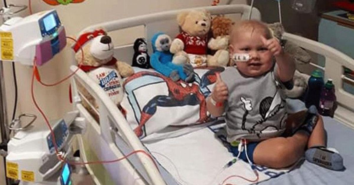 Malý Josh porazil dvakrát leukémiu
