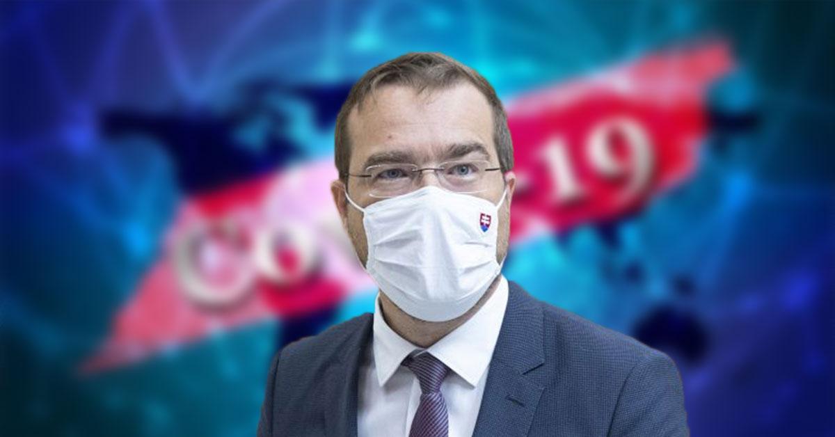 Minister zdravotníctva Marek Krajčí v kranténe