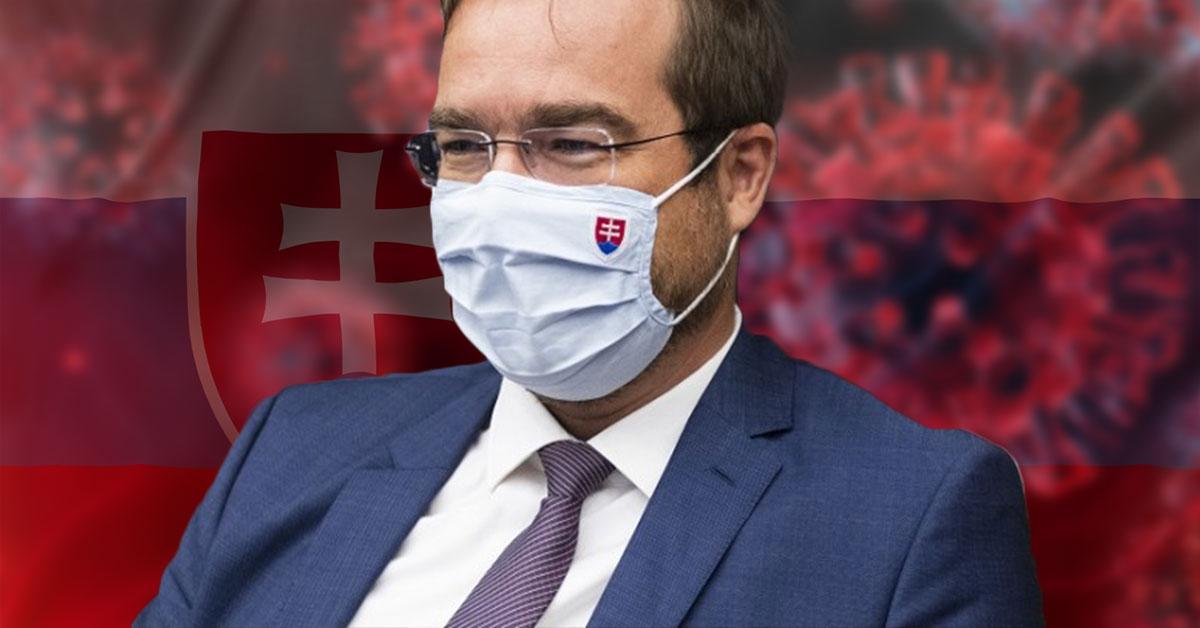 Minister zdravotníctva SR Marek Krajčí výsledky testu