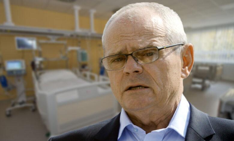 Milan Kňažko v nemocnici