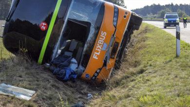 Photo of Nehoda diaľkového autobusu z Prahy – zranilo sa 31 ľudí