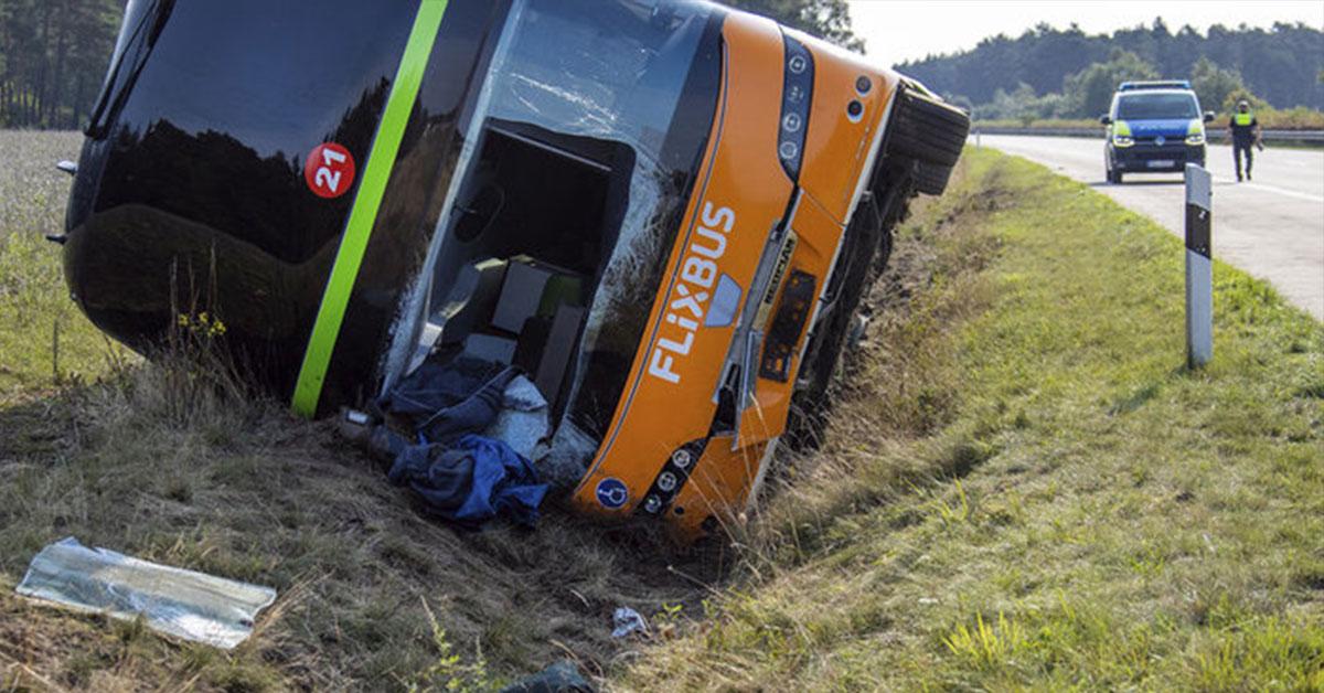 Nehoda autobusu Flixbus, Zdroj: TASR
