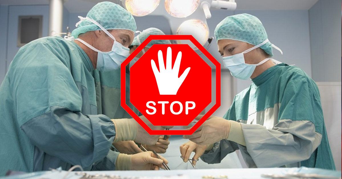 Operácie dostanú stopku