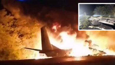 Photo of VIDEO: Pád lietadla na Ukrajine, zahynulo 25 ľudí