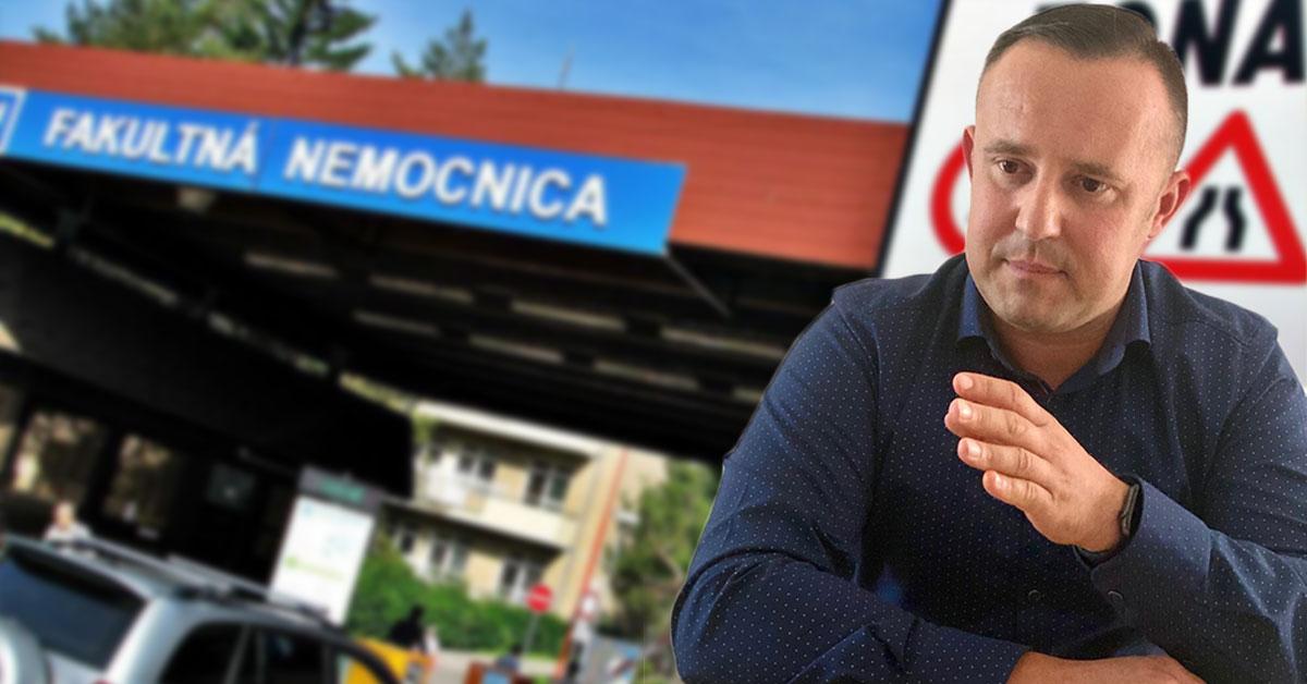 Trenčianska nemocnica riaditeľ Tomáš Janík
