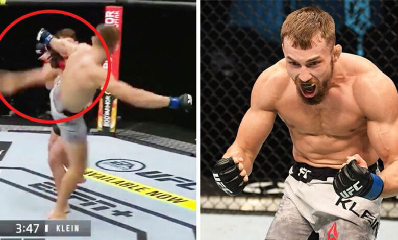 Photo of Slovenský bojovník Klein v premiére UFC – knokaut súpera za 76 sekúnd